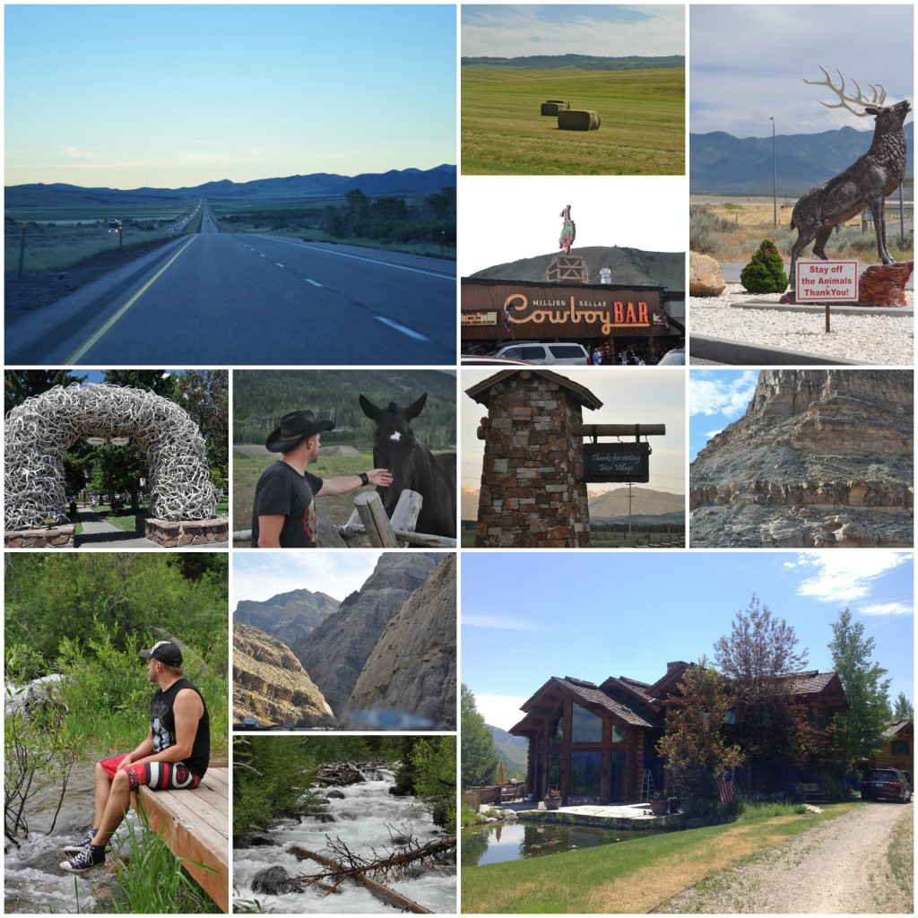 WY RoadTripCollage