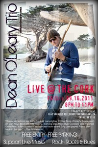 The CORK - Dean O'Leary LIVE